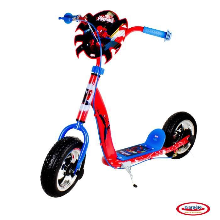 the amazing spiderman trottinette 2 roues 10 pouces darpeje achat vente patinette. Black Bedroom Furniture Sets. Home Design Ideas