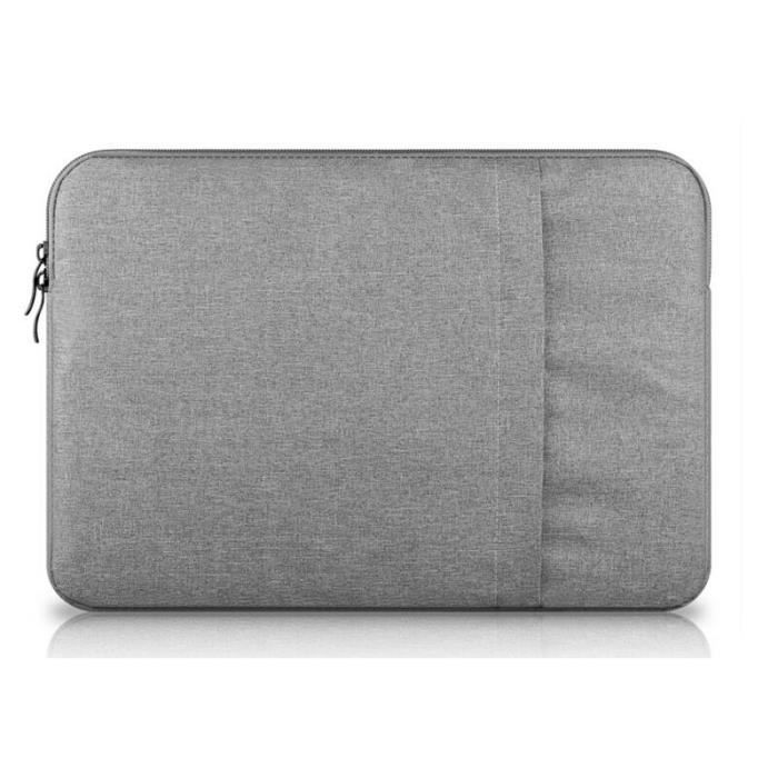 housse pour ordinateur portable 14 pouces sacoche pour macbook air macbook pro gris achat. Black Bedroom Furniture Sets. Home Design Ideas
