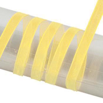 Rubans 10 mm Pack 18 couleurs x 2 m chaque Organza Satin Bord 15 mm ou 25 mm 36 M