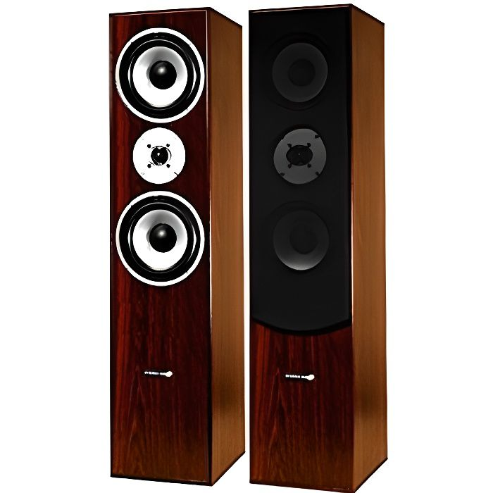 ltc paire d 39 enceintes colonnes hifi 350w 3 voies avec hp basses puissantes bass reflex. Black Bedroom Furniture Sets. Home Design Ideas