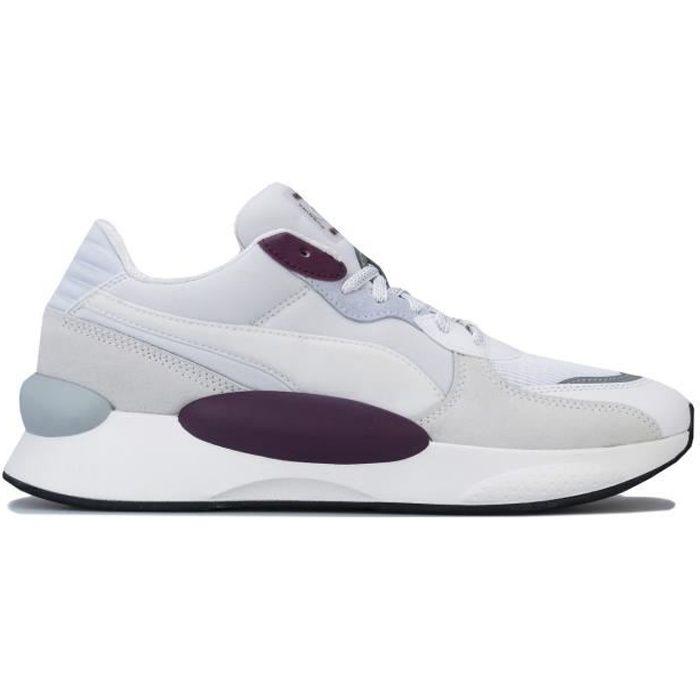 Baskets Puma Rs 9.8 Gravity Pour Homme En Blanc. Blanc violet ...
