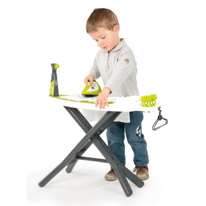 smoby table repasser repass net t fal achat vente. Black Bedroom Furniture Sets. Home Design Ideas