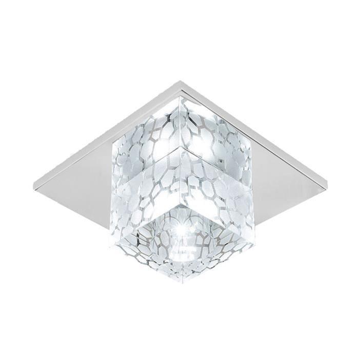 5w Plafonniers Led Plafonnier Salle De Bains Blanc Froid Lampe