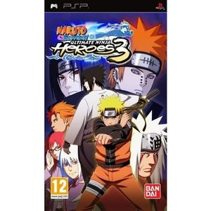 JEU PSP NARUTO SHIPPUDEN : ULTIMATE NINJA HEROES 3 / JEU C