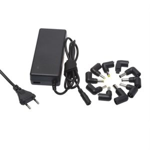 APM Chargeur Notebook 90W Avec 1 USB 1A + 10 Tips
