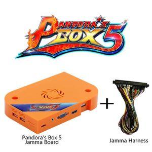JEU CONSOLE RÉTRO Pandora's Box 5 Jamma Board Pcb With Jamma Harness