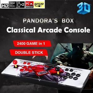 CONSOLE AUTONOME Pandora 3DPlus Console de Jeux Vidéo Arcade, 2400