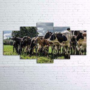 TABLEAU - TOILE lingzhishop,56593-(Unframed)5 pièce toile Animal V