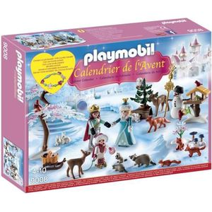 Calendrier de l'avent PLAYMOBIL 9008 -jeu-Calendrier de l'Avent - La Fam