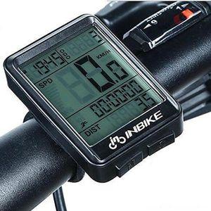 COMPTEUR POUR CYCLE Compteur de Vélo sans Fil étanche Multifonction, É