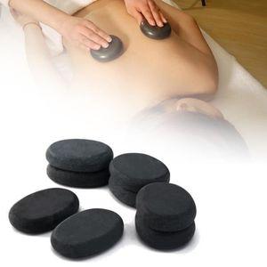 PIERRE VENDUE SEULE TOPTW 8PC SPA Pierre de Massage Basalte Chaude Vol