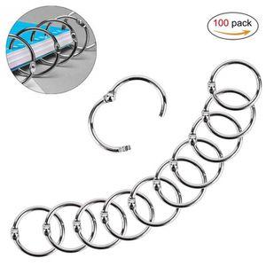 Yeelan 55pcs reliure /à anneaux charni/ère en fer porte-cl/és,25 mm reliure /à anneaux