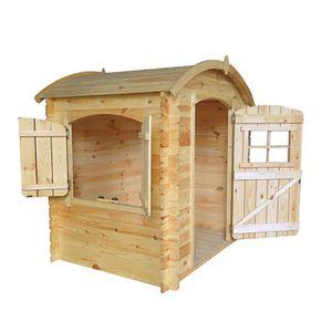 MAISONNETTE EXTÉRIEURE Maison enfant en bois Outdoor Toys Bambi