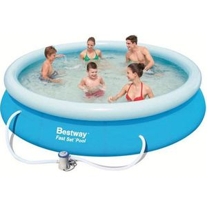 PISCINE BESTWAY Kit Piscine ronde autoportante Ø3,66 x H0,