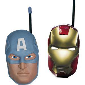 TALKIE-WALKIE JOUET AVENGERS Talkie-walkie (Iron Man et Captain Americ