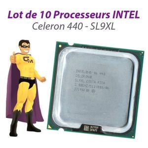 PROCESSEUR Lot x10 Processeurs CPU Intel Celeron 440 2Ghz 512