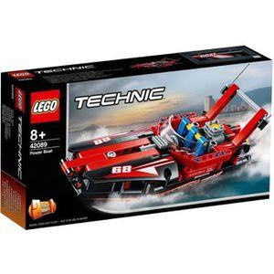 ASSEMBLAGE CONSTRUCTION LEGO® Technic 42089 Le bateau de course - Jeu de c
