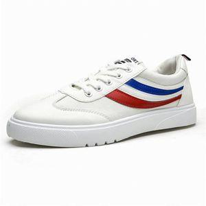 BASKET vulcanisés baskets homme plat chaussures marche en