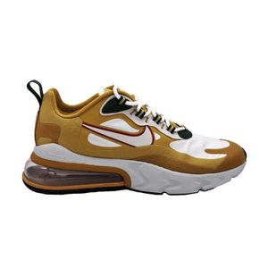 BASKET NIKE AIR MAX 270 REACT SNEAKERS BEIGE BIANCO NERO