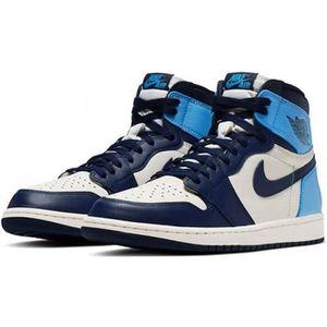 Jordan 1 bleu clair - Cdiscount