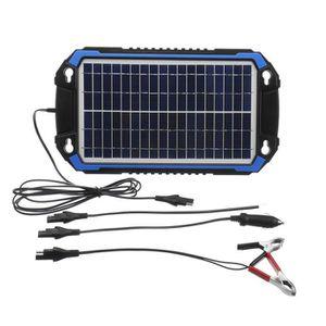 SARONIC Mainteneur Solaire de Batterie 18 Volts 18 Watts Chargeur de Batterie Solaire de Panneau dalimentation de Bateau de Voiture pour la Moto dautomobile