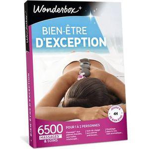 COFFRET BIEN-ÊTRE Wonderbox - Coffret cadeau - Bien-être d'exception
