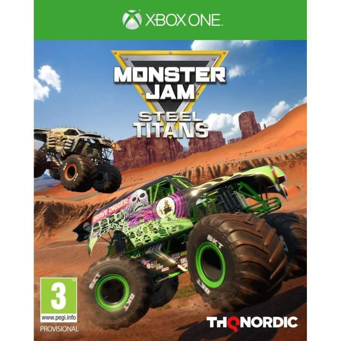 Monster Jam - Steel Titans Jeu Xbox One