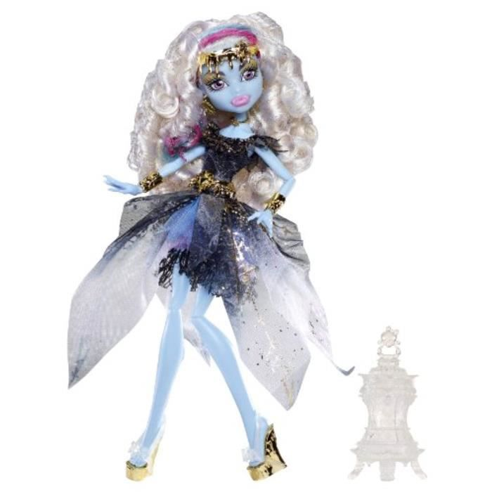 Poupee K8ZEZ Monster High 13 Wishes Abbey Bominable Doll