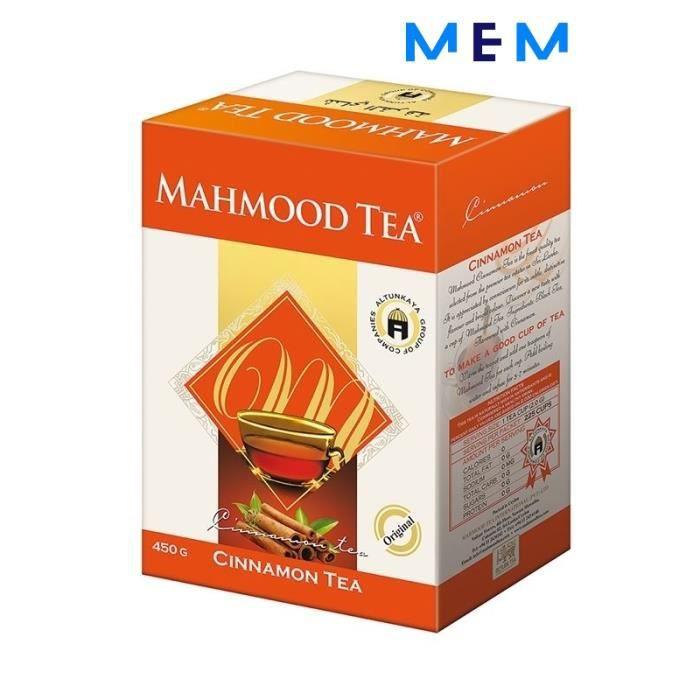 Thé de Ceylan à la cannelle en vrac MAHMOOD TEA 450 gr