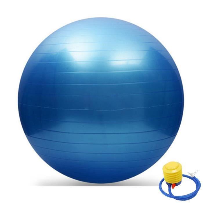 65cm Exercice GYM Yoga Swiss Ball Fitness Grossesse Accouchement Anti Burst + Pompe fitness yoga #119