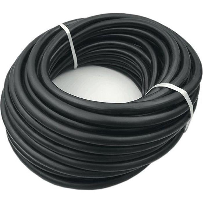 Cable de démarrage 50mm2 au mètre NOIR