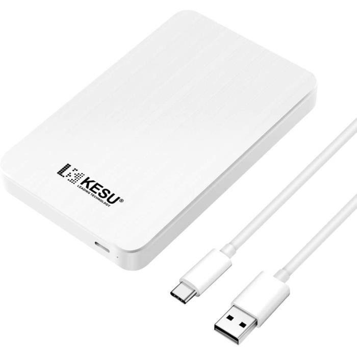 Connecteur USB 3.1 Type C : N'ayez plus peur de brancher votre appareil dans le mauvais sens Les disques durs portables KESU-2519 s