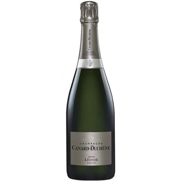 6x Canard-Duchêne Léonie Demi-sec - Champagne