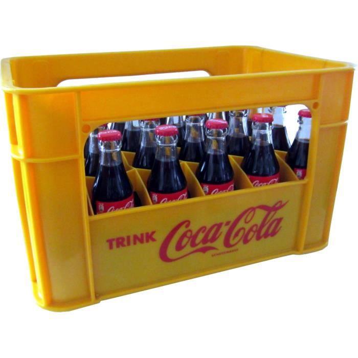24 x Coca-Cola Classique 0.2L Cas d'origine bouteille en verre
