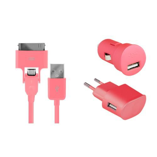 Pack charge 3 en 1 Colorblock Bubble Gum pour i…