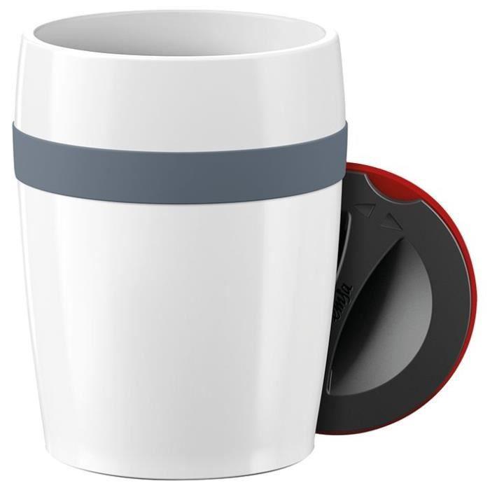 EMSA Travel Cup ceramic - 0,2 L - Gris