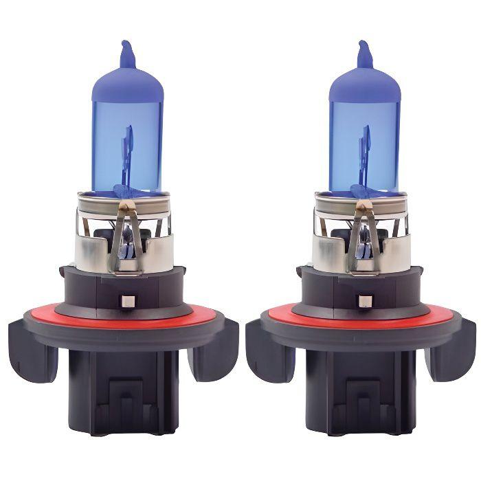 2 x Ampoules H13 60/55W 12V SUPER WHITE - FRANCE-XENON