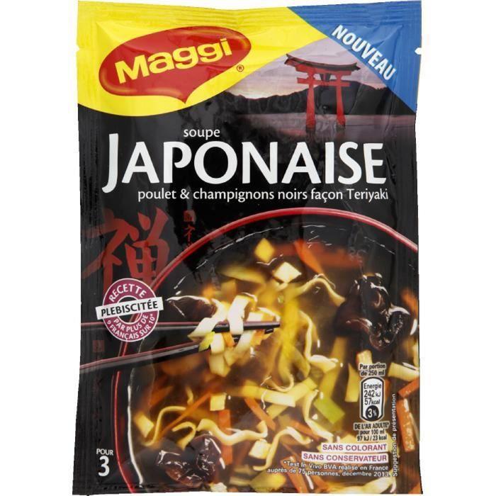 Soupe japonaise 50g MAGGI