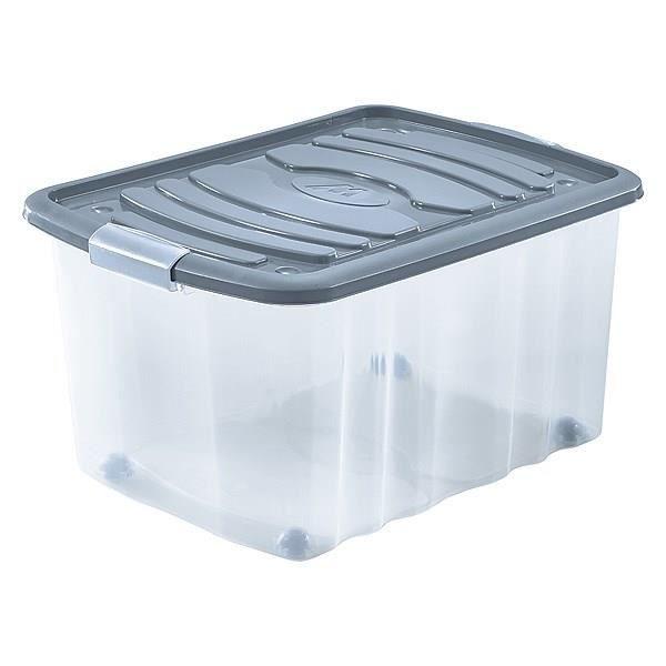 MONDEX Roll-Box - 45 L - Gris Tempera