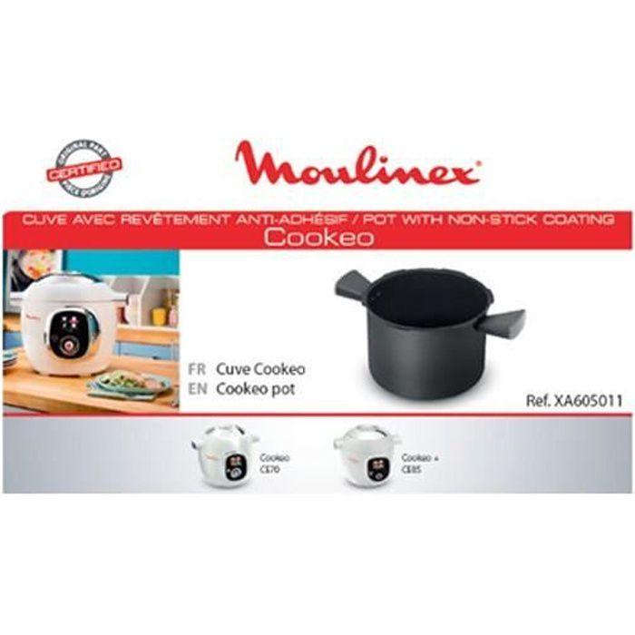 accessoire cuve + 2 poignees cuiseur cookeo moulinex XA605011