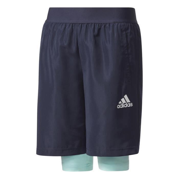 Short de sport Adidas 2in1 Short Jr