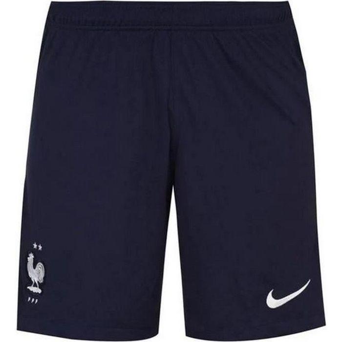 Nouveau Short Officiel de Football Homme Nike France Domicile Euro 2020