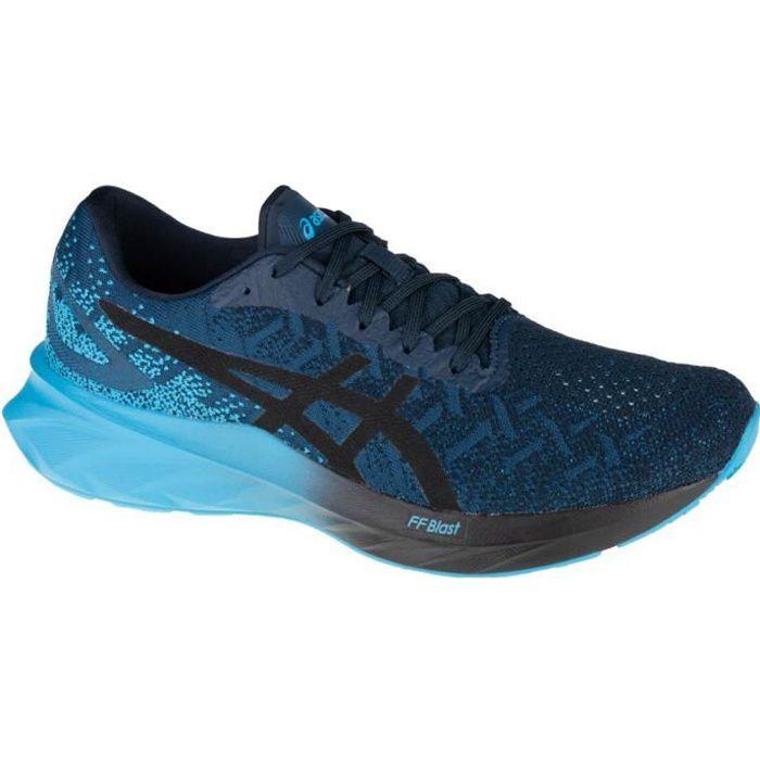 Asics Dynablast 1011A819-400, Homme, Bleu marine, chaussures de running