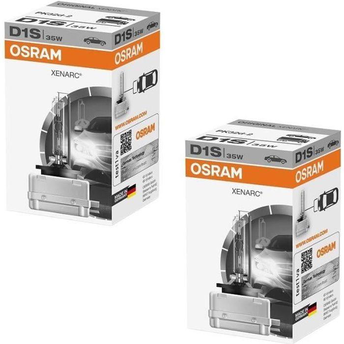 2 AMPOULE XENON OSRAM D1S XENARC 35W 66140 CLC
