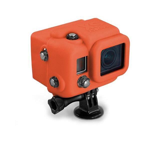 XSORIES Housse en silicone avec Capuche pour GoPro HD Hero3 - Orange