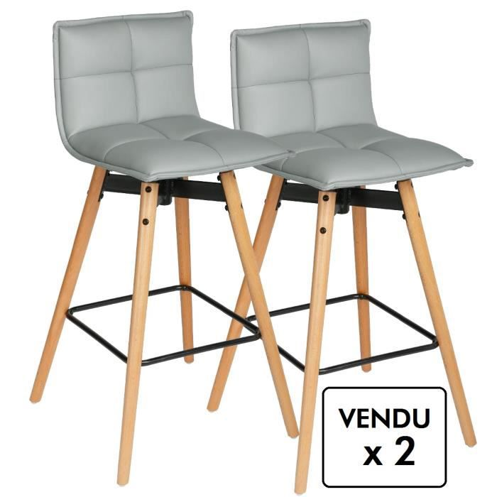 tabouret bar pied bois achat vente tabouret bar pied bois pas cher cdiscount. Black Bedroom Furniture Sets. Home Design Ideas