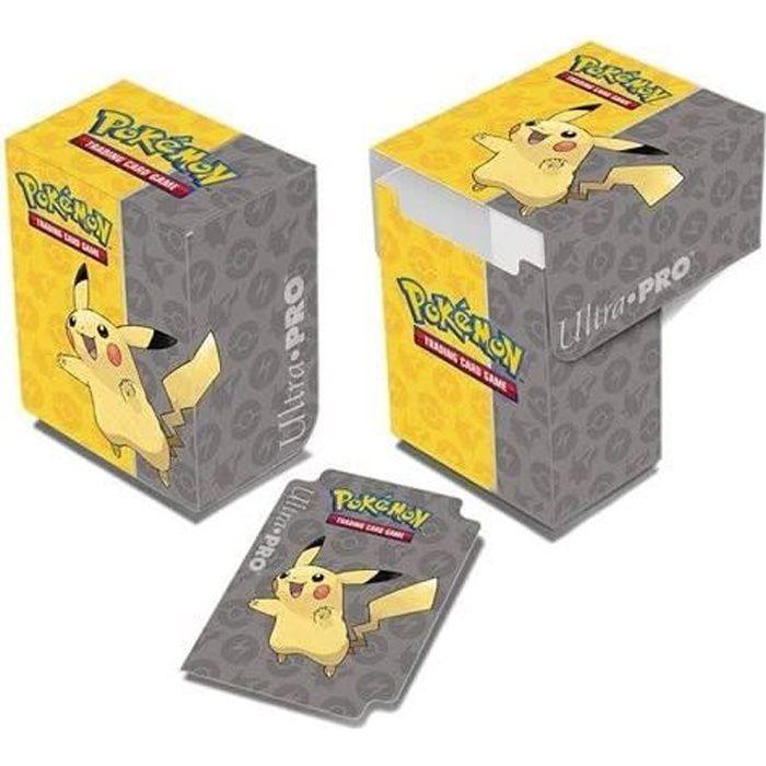CARTE A COLLECTIONNER POKEMON - Boîte plastique de Rangement Pikachu - C