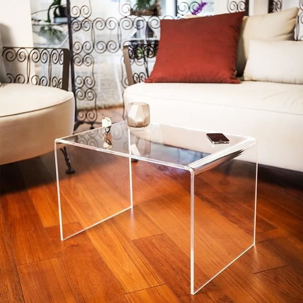 Table Basse Effett Verre Acrylique Transparent Table Basse Plexiglass Table Moderne De Sejour Salon Achat Vente Table Basse Table Basse Effett Verre Ac Cdiscount
