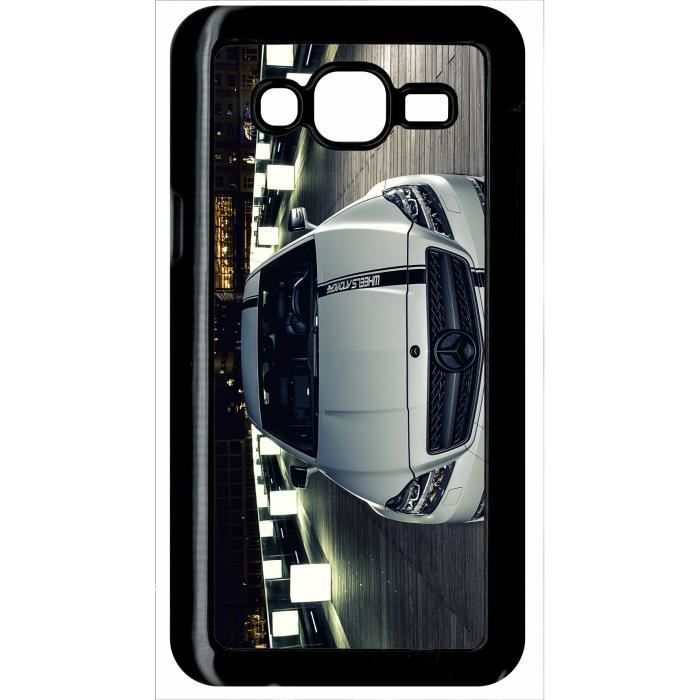 coque samsung galaxy j5 mercedes benz cls 63 amg blanche. Black Bedroom Furniture Sets. Home Design Ideas
