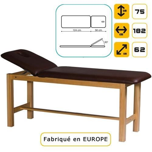 lit de massage en bois pin massif bleu azur ma achat vente table de massage lit de. Black Bedroom Furniture Sets. Home Design Ideas